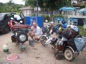 Ricky, Miguel y Peluche viajando a Corrientes