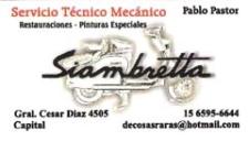 Servicio Tecnico Mecanico de Pablo Pastor 15-6595-6644